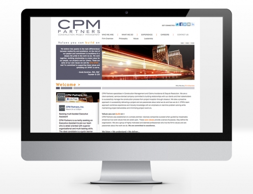 Web – CPM Partners Website